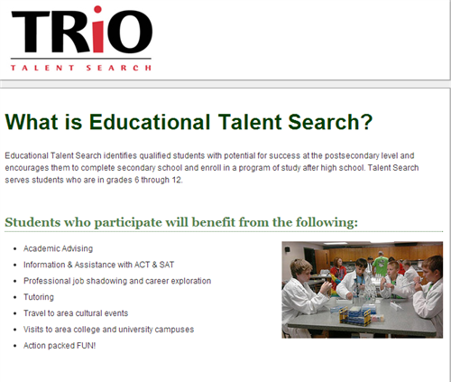 About the Talent Search